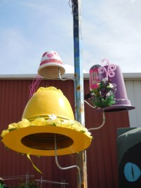 The Mad Hatter's Hat Rack.