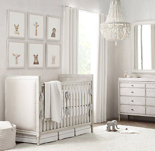Animal Print Wallpaper For Bedrooms Stylish Pale Grey Wood And White Unisex Nursery Inspiration