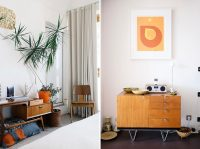 A Mid-century modern apartment home tour in the Barbican