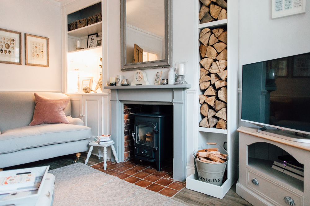 country living rooms uk house room ideas elle s modern home downstairs rock my style daily sitting wood burner and log store