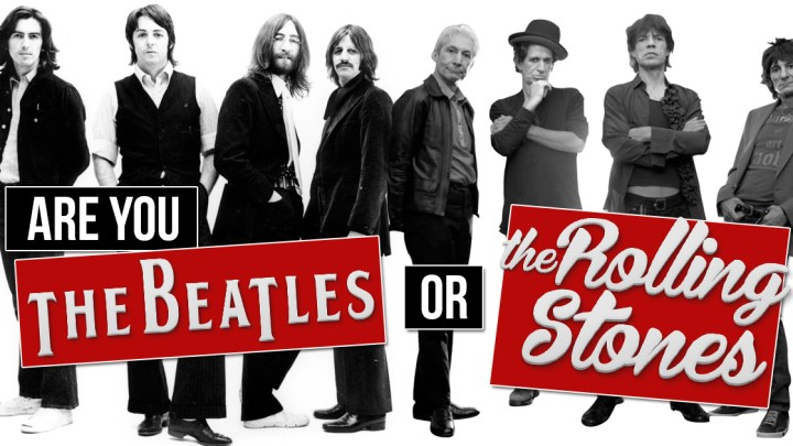 Beatles Vs. Rolling Stones