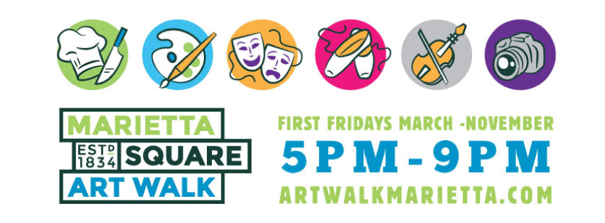marietta square art walk