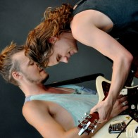 Devon and Conner of Half Moon Run - Festival Les Vieilles Charrues 2013