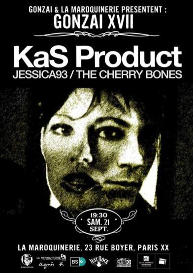 Gonzaï sait y faire avec les soirées. Pour celle du 21 septembre, on se rend du côté de la Maroquinerie pour du noise, du garage, du rock qui te met en transe. Mais genre vraiment en transe avec KaS Product, Jessica93 et The Cherry Bones.