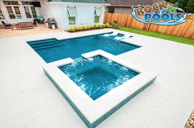 Rock'N'Pools N Club #3 Pool Banner