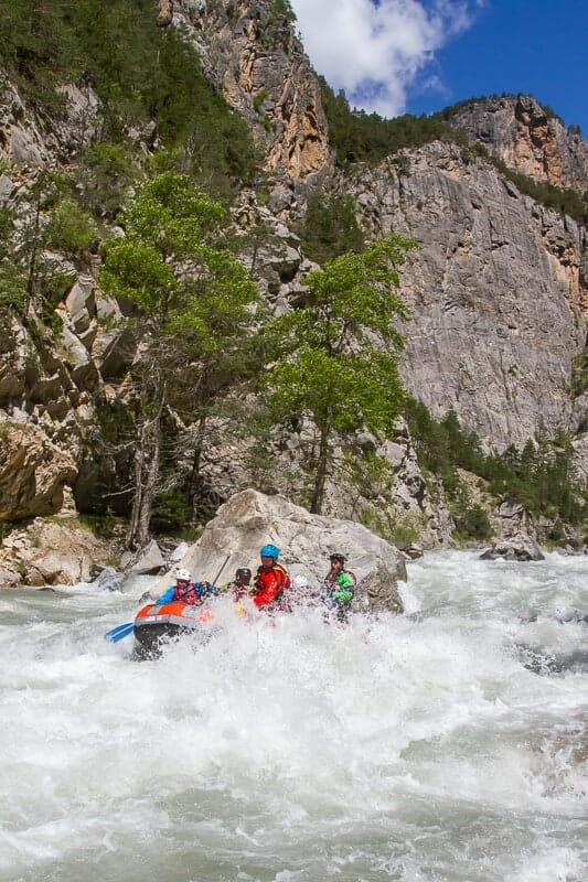 rafting Guil