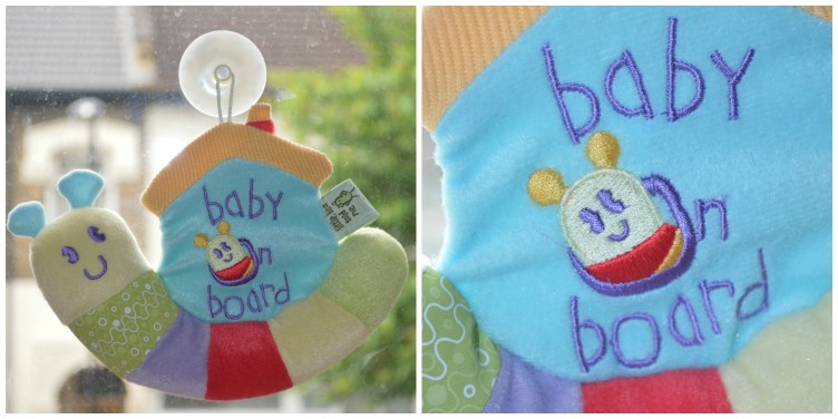 Little Bird Told Me Baby On Board Sign 2