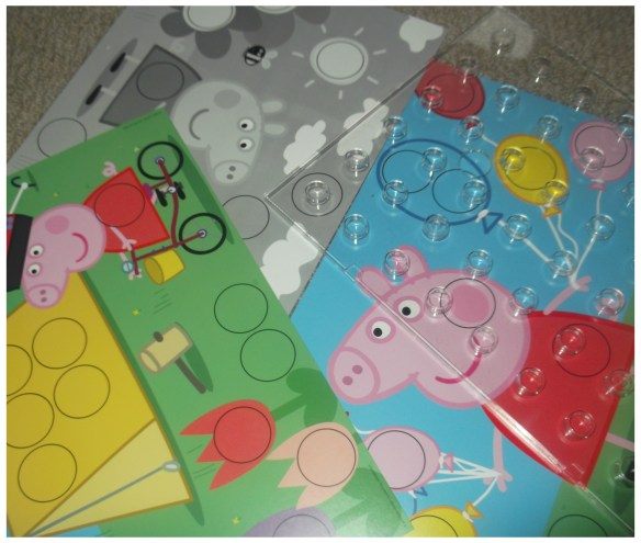 Peppa Pig Colour Game Post