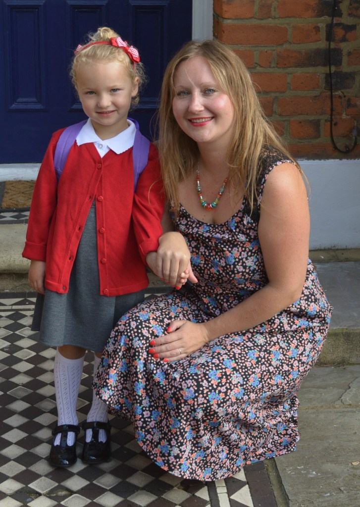 This was Florence on her first day of big school back in September 2014!