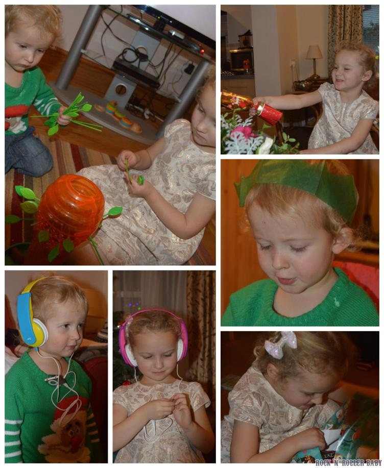 Christmas day is so much fun with children and we loved every single second!