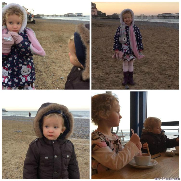 A wintry day at the beach!