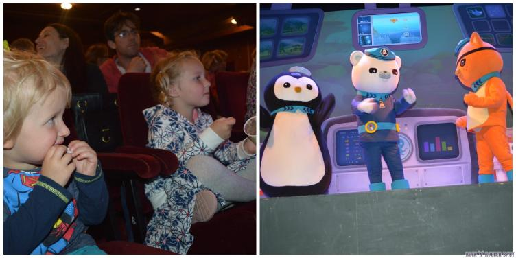 Octonauts live which was amazing! We had a Meet and Greet with the cast afterwards and they sang Happy Birthday to Jimmy! It was the perfect Birthday treat!