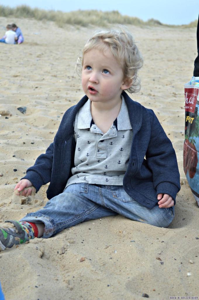 Caister's sandy beach!