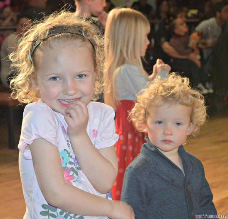 Tired but not giving in at the Haven Holiday's disco!