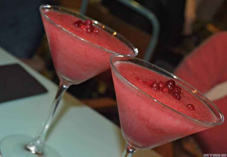 More of those yummy Frozen Lingonberry Daiquiris!