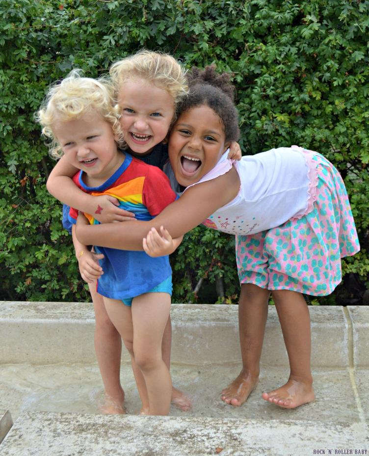Jimmy, Florence and their friend Zhane after having a great time at the theatre having a play in Greenwich park!