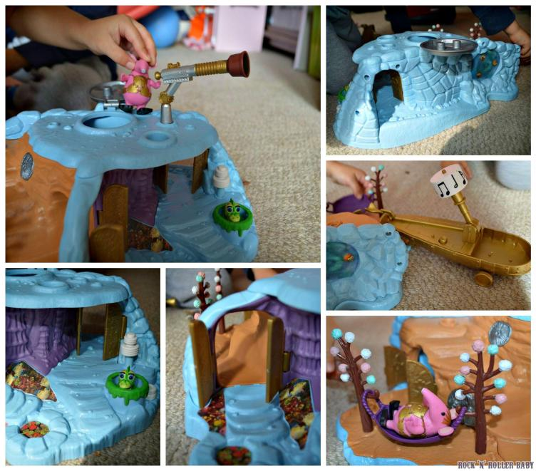 There's loads of really col features to the Klanger Home Planet!
