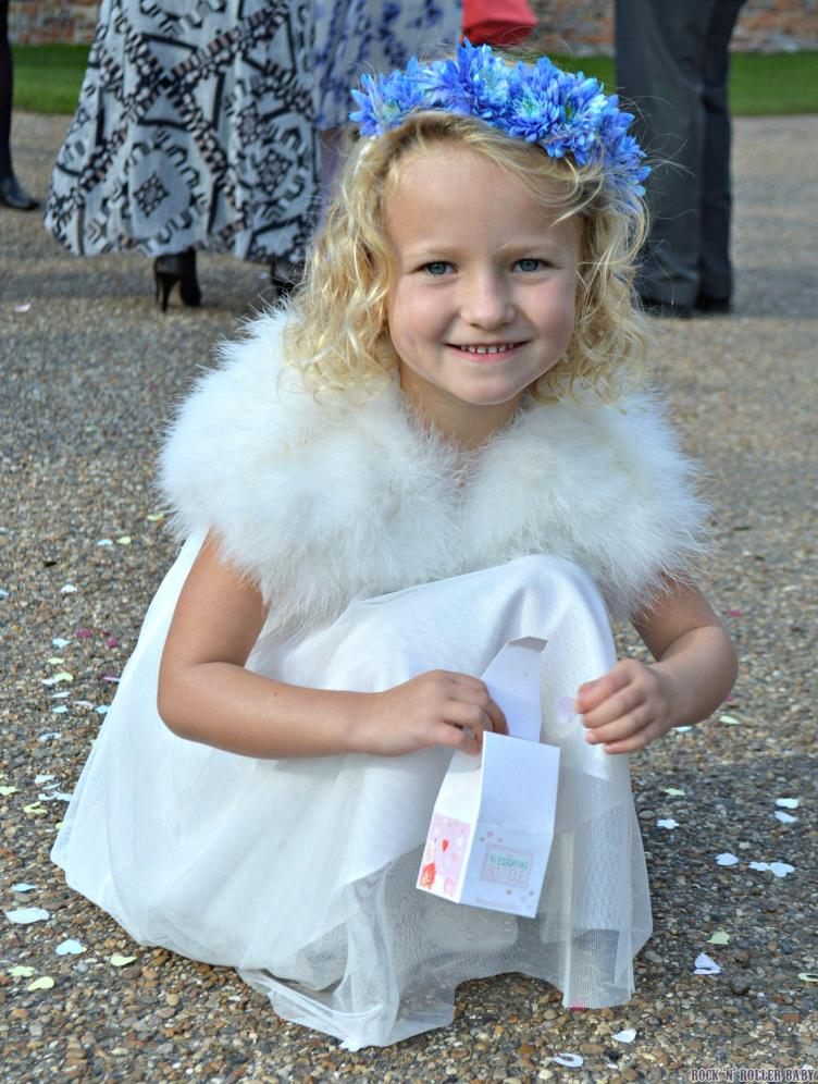 And your little bridesmaid was thrilled to be such an important part of your day so thank you for making her feel so special. xxxx