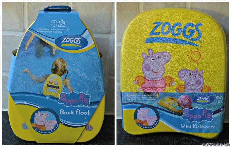 Back floats and a regular float from Zoggs!