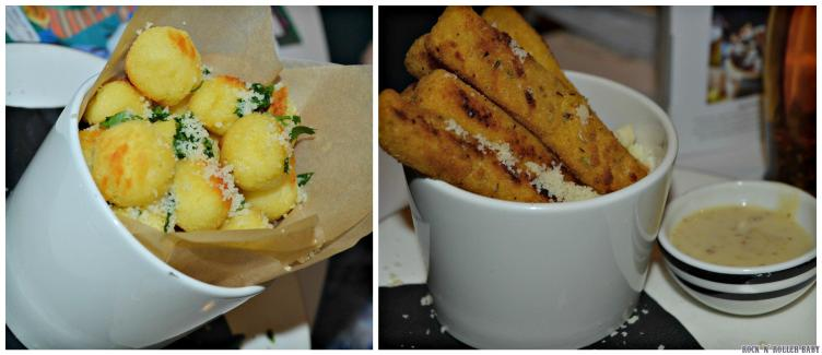 We tried the wonderful and new on the menu Potato Nicciola and enjoyed a firm favourite in the Polenta Chips on the side!