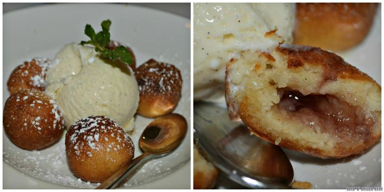 Bombolini. Best desert I've ever had at Pizza Express and THAT'S saying something!