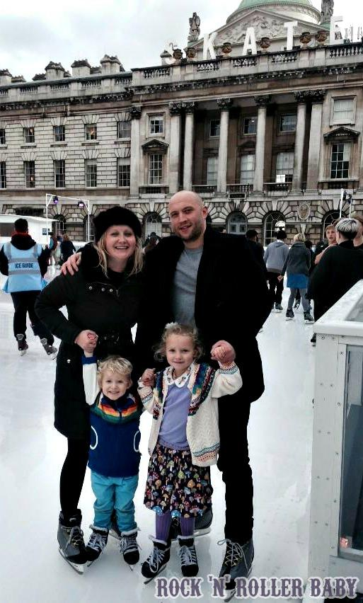 My little skaters!