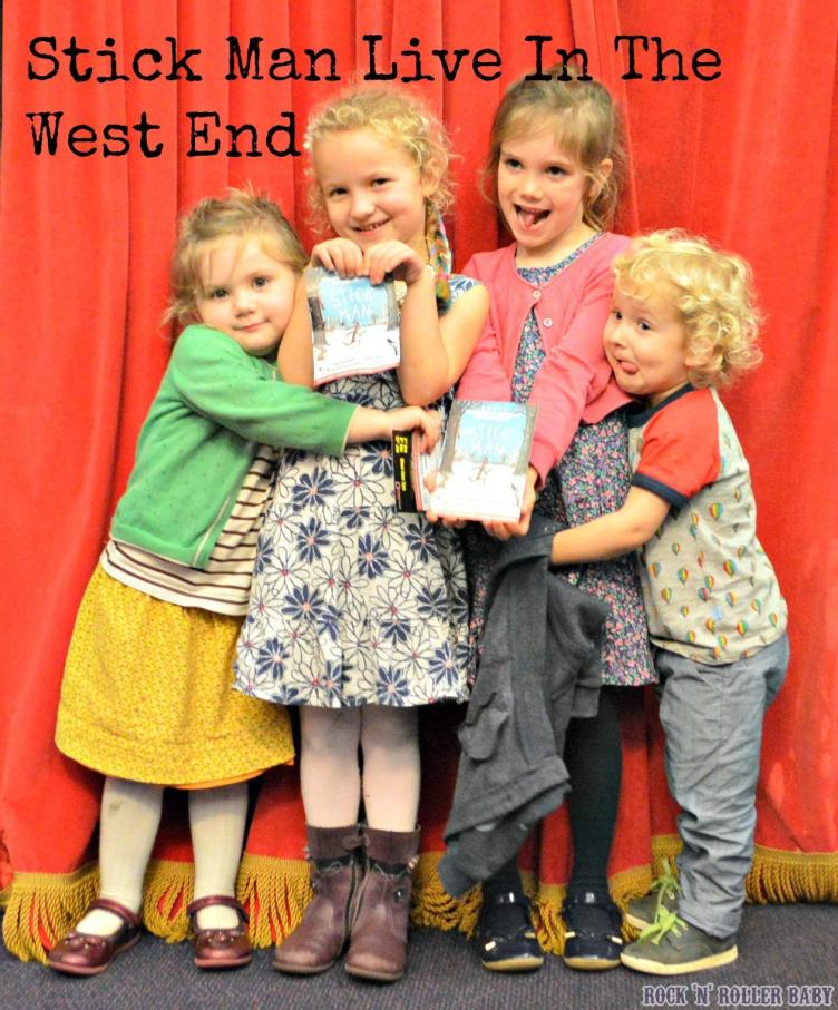 My two with Modern Mummy's little ones just over a week ago at Stick Man Live IN The West End 2015!