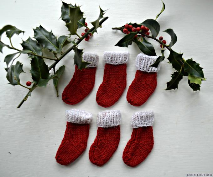 Easy Mini Christmas Stocking Knitting Patterns Free Christmaswalls