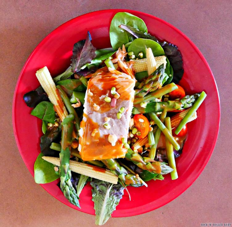 Salmon Salad Post