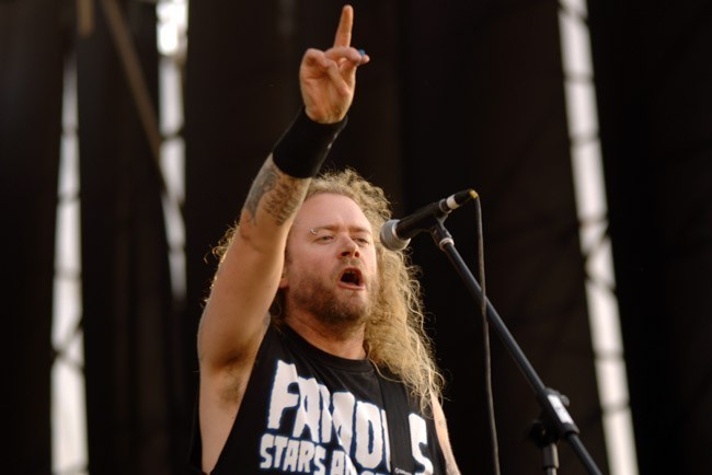 Criminal abrió el concierto de Metallica | Fotógrafo: Álvaro Pruneda