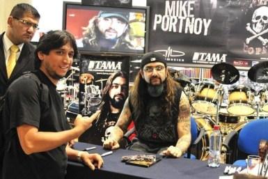 Mike Portnoy | Fotográfo: Javier Valenzuela