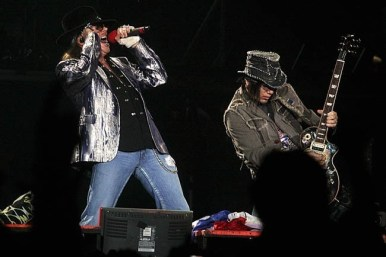 Guns n` Roses en Santiago | Fotógrafo: Paula Farías