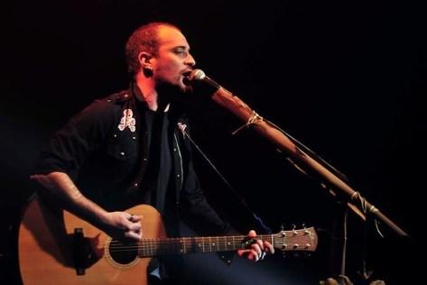 José Benett en vivo en Chile | fotógrafo: Javier Valenzuela
