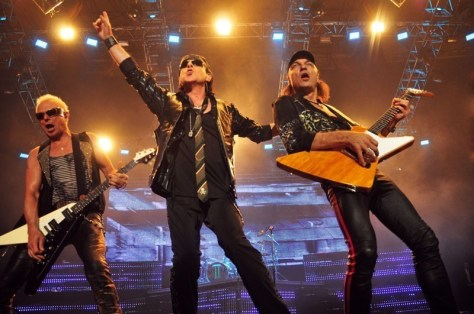 Scorpions en Chile 2010 | Fotógrafo: Javier Valenzuela