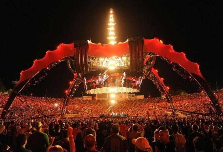U2 360 Tour - Fotógrafo: Kevin Mazur