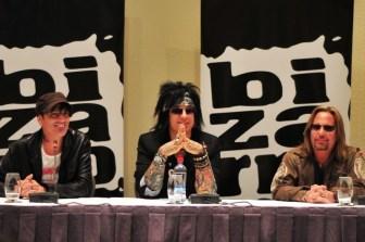 Mötley Crüe: conferencia de prensa en Santiago | Fotógrafo: Javier Valenzuela