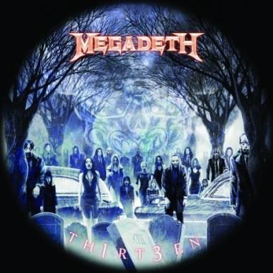 """""""Th1rt3en"""", el nuevo disco de Megadeth"""
