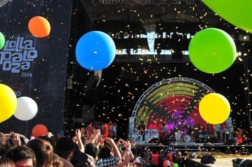The Flaming Lips en Lollapalooza Chile | Lo mejor del 2011 | Fotografía de Javier Valenzuela