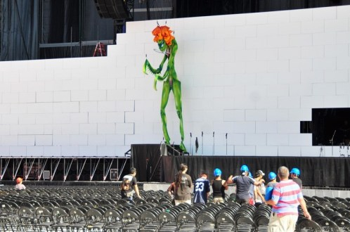 Roger Waters The Wall Live - Chile 2012