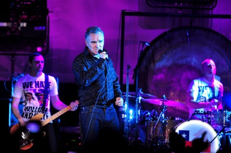 Morrissey en Chile   Fotógrafo: Javier Valenzuela