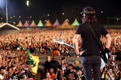 Foo Fighters | Lollapalooza Brasil 2012 | Fotógrafo: Cambria Harkey