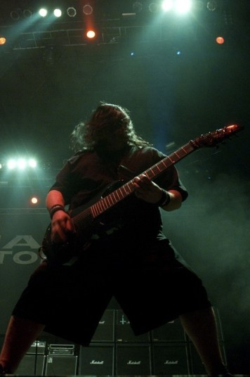 Fear Factory - The Metal Fest 2012 | Fotógrafo: Jean-pierre Cabañas