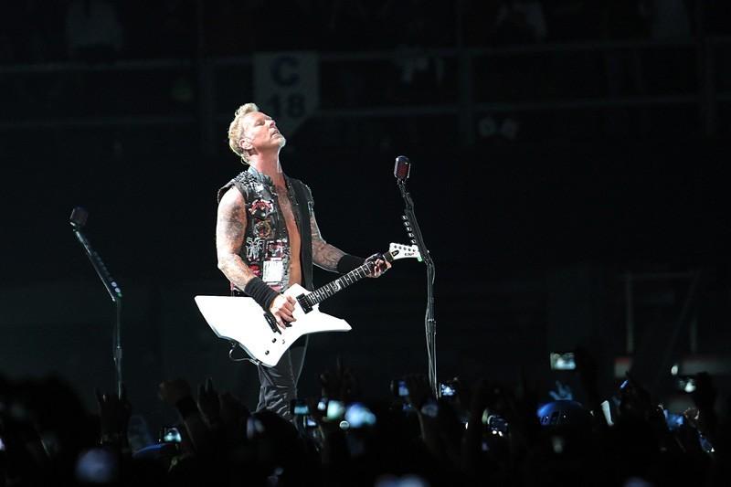 Metallica en México | Fotógrafo: Lulú Urdapilleta