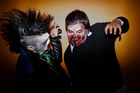 Zombies en Cineplanet Costanera Center | Fotógrafo: Juan Francisco Lizama L.