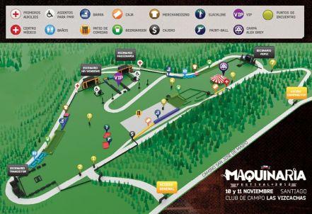 Plano - Maquinaria Festival Chile 2012