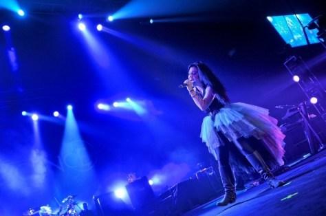 Evanescence en Chile | Fotógrafo: Cristián Soto L.