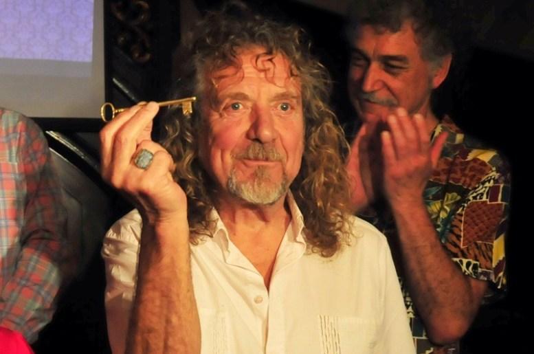 Robert Plant en Chile - Fotógrafo: Javier Valenzuela