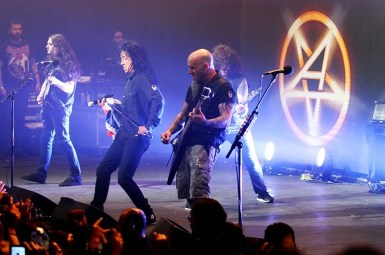 Anthrax y Testament en Chile 2013 | Fotógrafo: Pablo Villagra Tapia