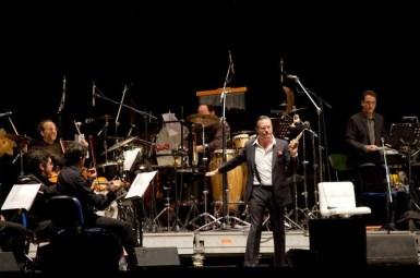Ennio Morricone y Mike Patton   Fotógrafo: Juan Francisco Lizama