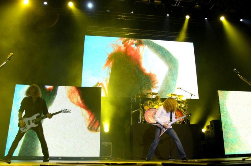 Megadeth - Metal Fest Chile 2014   Fotógrafo: Javier Valenzuela